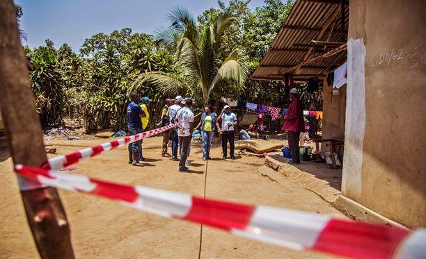3 700 sierraleonelaisen uskotaan saaneen ebolatartunnan.