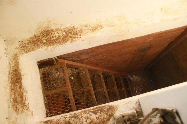 Los Mochisin piilopaikastakin löytyi tunneli.
