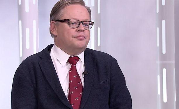 Kokoomuksen kansanedustaja Juhana Vartiainen
