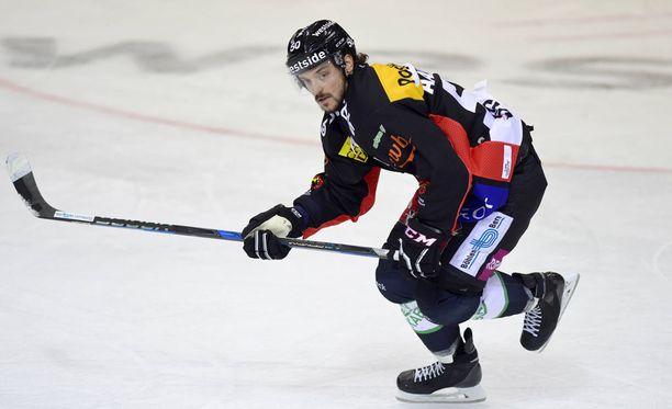 Juhamatti Aaltosen ura jatkuu Ruotsissa.