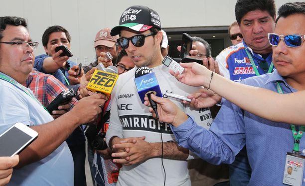 Force Indian Sergio Pérez katkaisi välit sponsoriinsa.