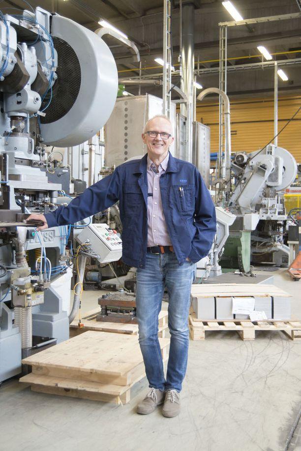 Finn-Korkin tuotanto on Suomessa, mutta tuotteet menevät pääasiassa ulkomaille.