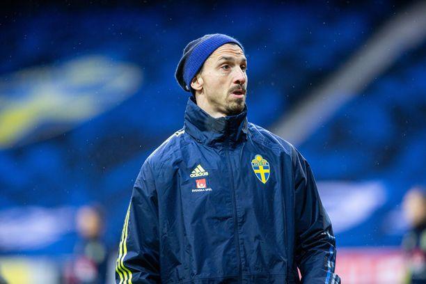 Zlatan Ibrahimovic teki paluun Ruotsin maajoukkueeseen maaliskuussa vuosien tauon jälkeen.