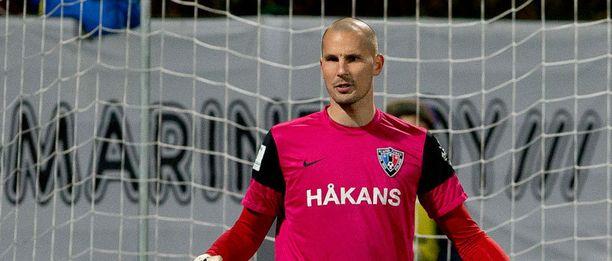 Maalivahti Magnus Bahne on Interin kaikki kaikessa.