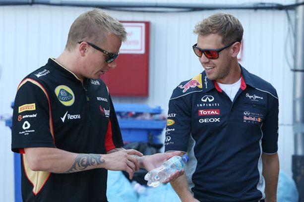 Voisivatko Kimi Räikkönen ja Sebastian Vettel sittenkin olla tallikavereita?