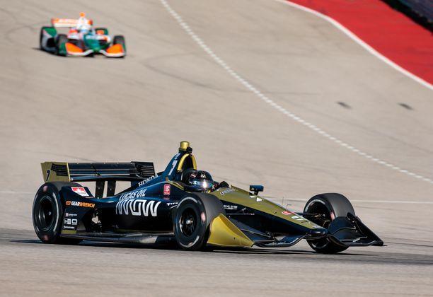Marcus Ericsson ajaa nykyään kilpaa IndyCar-autolla.