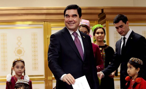 Muille kuin Gurbanguly Berdymukhamedoville ei ääniä juurikaan herunnut.