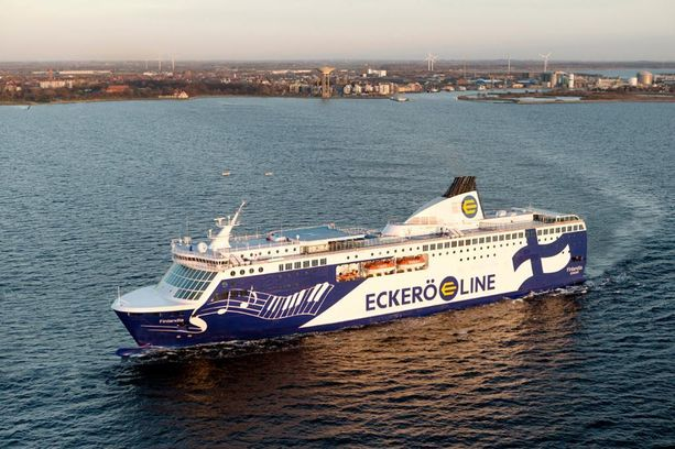 Eckerö Linen Finlandialla on ollut jo yli viisi miljoonaa matkustajaa.
