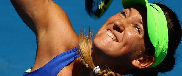 Viktoria Arazenka pelaa Australian avointen finaalissa.