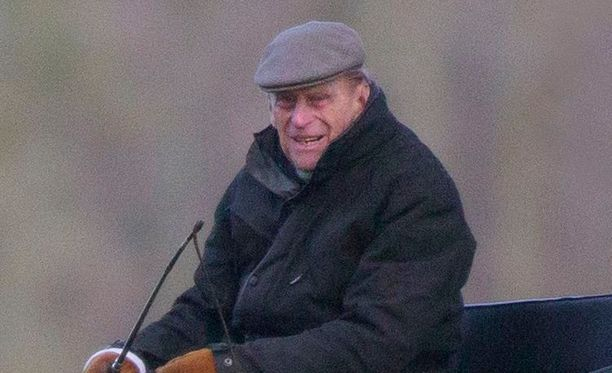 Prinssi Philip on ollut korkeasta iästään huolimatta hyvässä kunnossa.