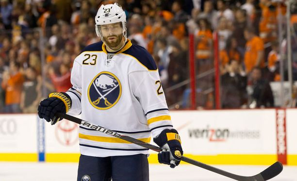 Ville Leinon peli ei kulkenut enää Buffalossa.