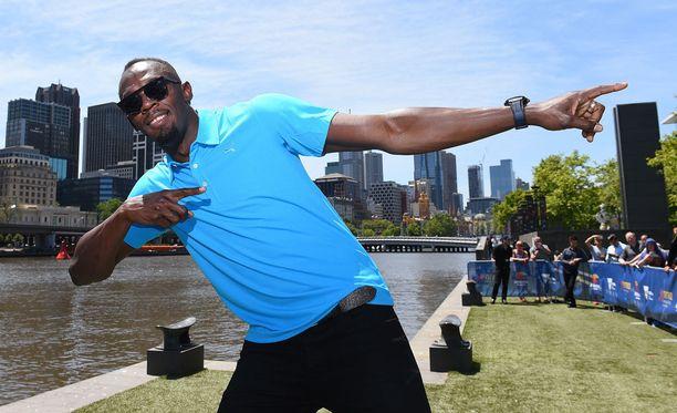Usain Bolt nähdään vielä Lontoon MM-kisoissa.