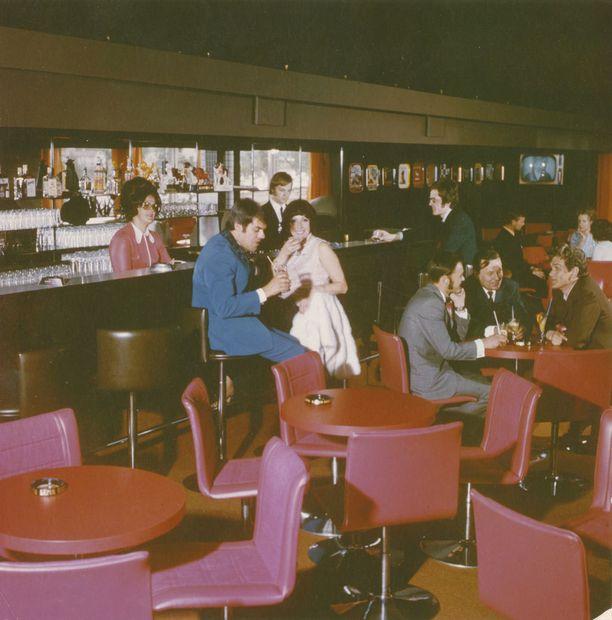 Pohjanhovin baari 1960-luvulla.