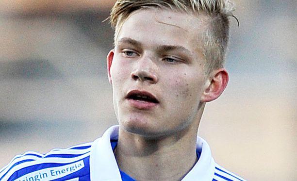 Joel Pohjanpalo ja HJK yrittää kaataa tänään Hakan.