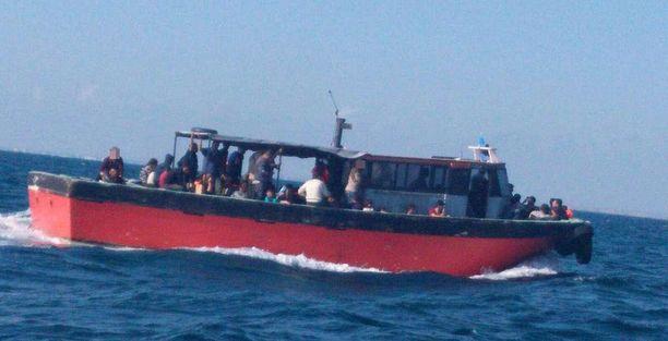 Tämä vene pysäytettiin 3. syyskuuta.