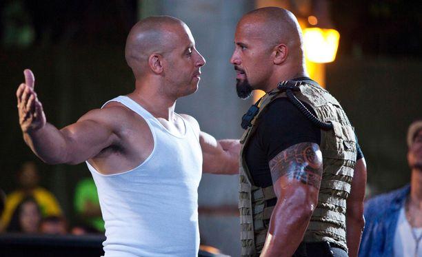 Vin Diesel ja Dwayne Johnson sopivat riitansa.