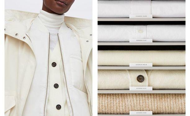 Vaatteissa on kahdeksannumeroidet ID-koodit, joiden tarkoitus on helpottaa asikkaita löytämään sama malli erilaisesta kankaasta valmistettuna - tai toisinpäin.