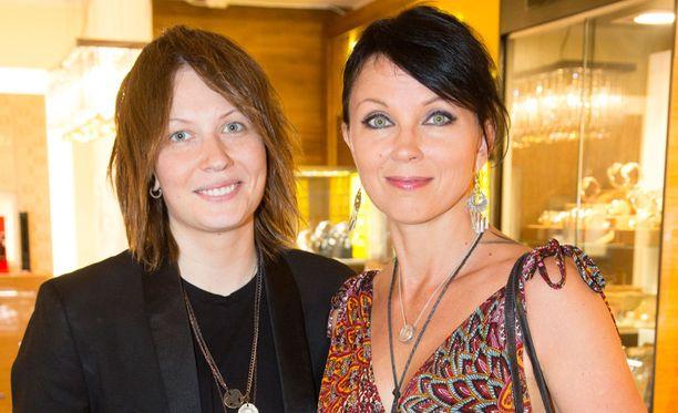 Eliya Zweygberg ja Katariina Souri menivät naimisiin kaksi vuotta sitten.