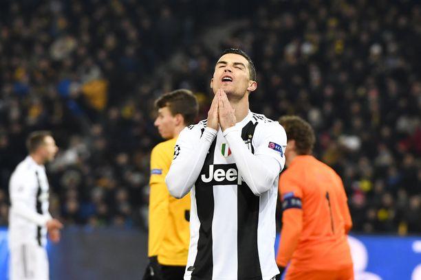 Cristiano Ronaldo vaikuttaa sekä Juventuksen että käänteisesti myös Real Madridin Mestarien liiga -vmahdollisuuksiin.