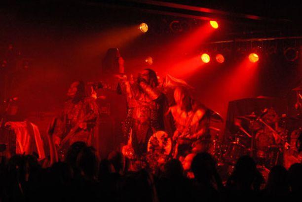 Lordi esiintyi Atlantassa viime keskiviikkona.