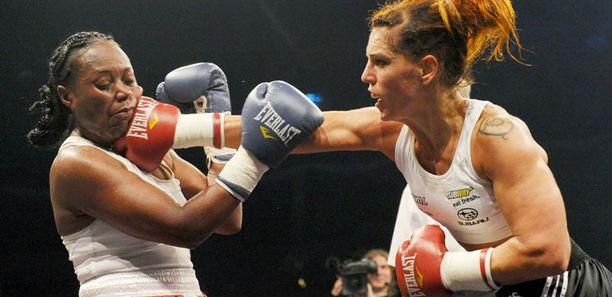 Eva Wahlströmin ottelu päättyi erikoisesti.