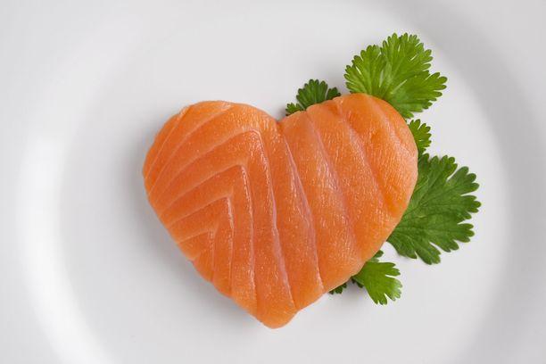Lohessa on paljon sydänterveydelle hyvää tekeviä rasvahappoja.