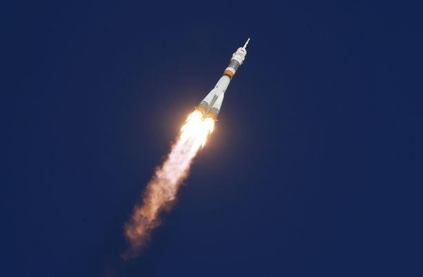 Sojuz MS-10 laukaistiin tänään kello 11.40 Suomen aikaa.