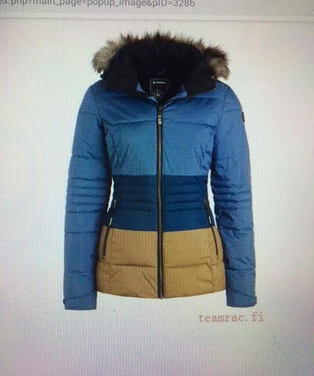 Jari ja Leena odottivat tällaista takkia saapuvaksi. Takki maksoi 257,46 euroa.
