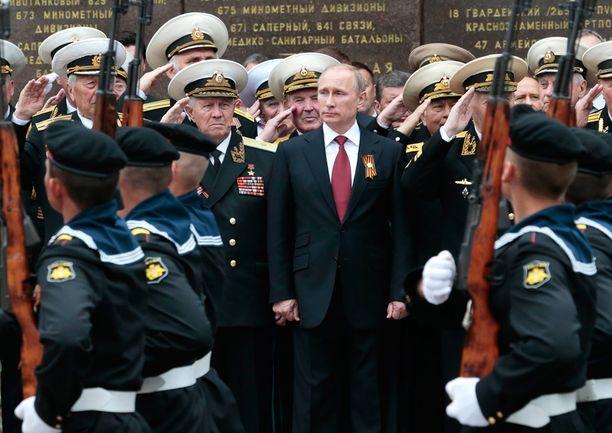 Putinilla riittää tällä viikolla hommia, sanoo tiedottaja.