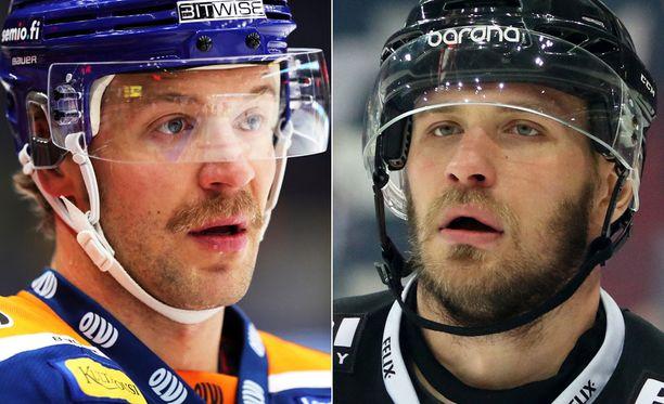 Jonne Virtanen (oik.) kuittasi Twitterissä Ben Bloodin pullisteluun.