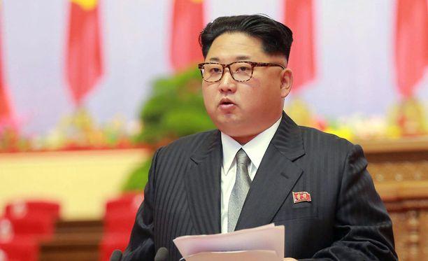 Pohjois-Korean johtaja Kim Jong-un.