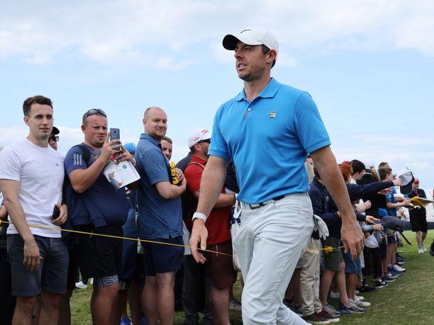 Pohjoisirlantilainen Rory McIlroy pääsee pelaamaan The Openin kotiyleisön edessä.