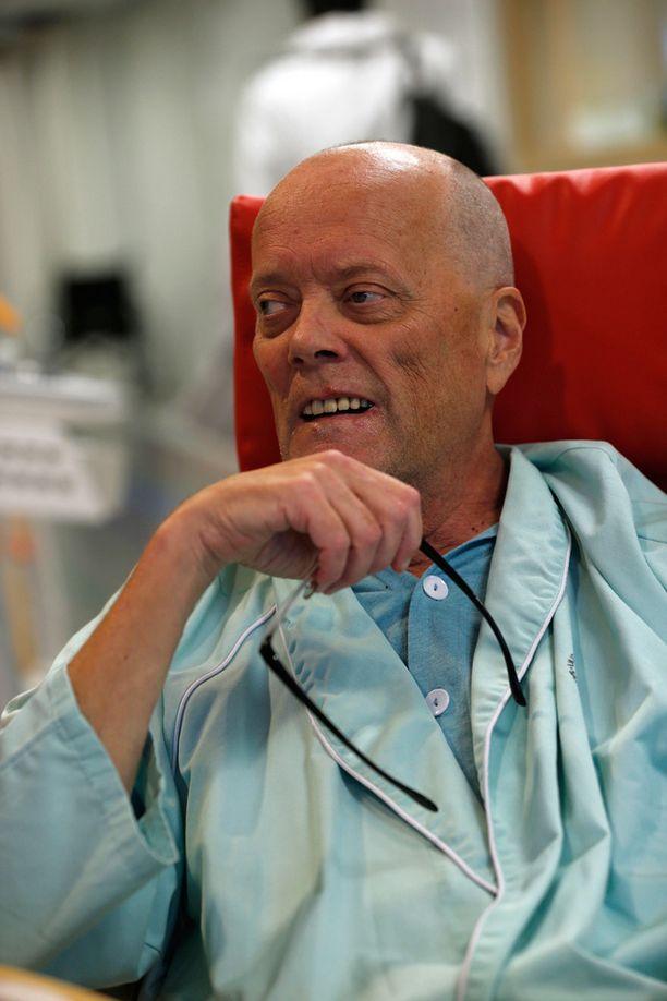 Markku Mäntymaa Meilahden sairaalassa Helsingissä syyskuussa.