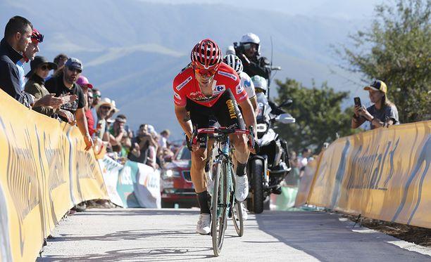 Primoz Roglic aloitti ammattilaisuransa pyöräilyssä vuonna 2013. Ilmiömäinen lahjakkuus huomattiin nopeasti. Sunnuntaina hän polkee ensimmäiseen suurvoittoonsa, kun Roglic voittaa Espanjan ympäriajon.