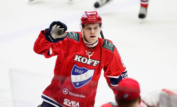 Joonas Rask iski HIFK:n avausmaalin.