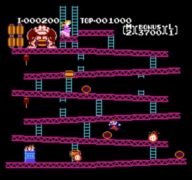 Mario teki ensiesiintymisensä Donkey Kongissa 1981.