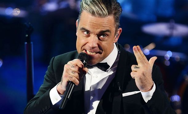 Robbie Williams esiintyy ensi toukokuussa Helsingissä.