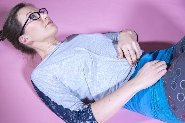 Tuntuuko vatsa pehmeältä vai tunnetko vatsassa lihakset?