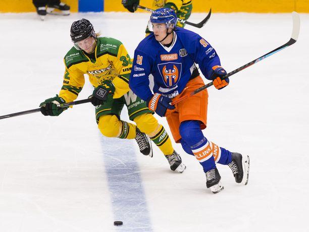 Tappara ja Ilves vääntävät perjantaina pisteistä Tampereella.