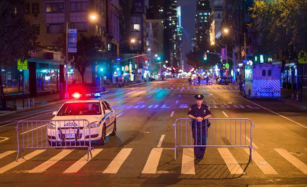 New Yorkin Manhattanilla tapahtui räjähdys viikonloppuna. Myöhemmin lähistöltä löytyi toinenkin epäilty räjähde.