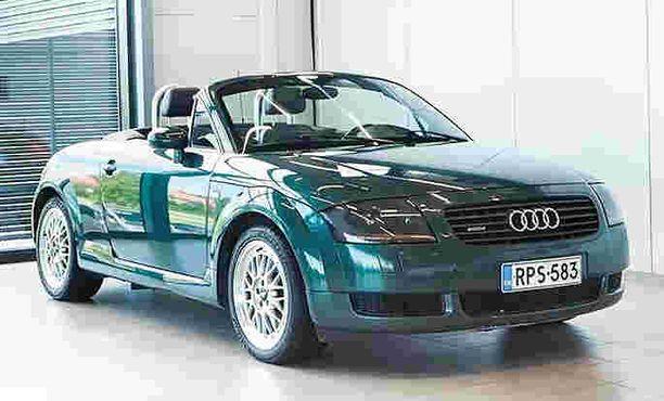 Audi TT Roadster on ajaton avoauto.