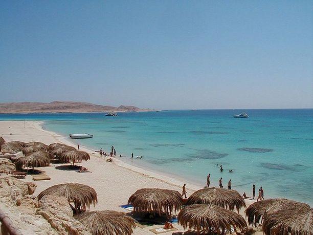 Hurghada on tunnettu kauniista rannoistaan.