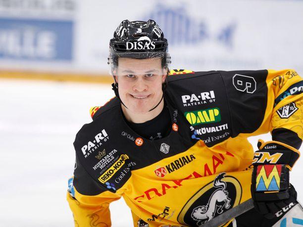 Jesse Puljujärvi muodosti viime kaudella oivan tutkaparin Juho Lammikon kanssa.