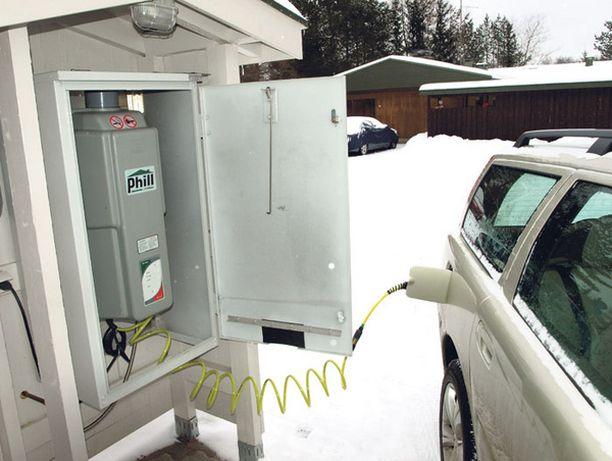 KOTIMITTARI Pitkänen rakensi kaasupumpulle oman pömpelin.