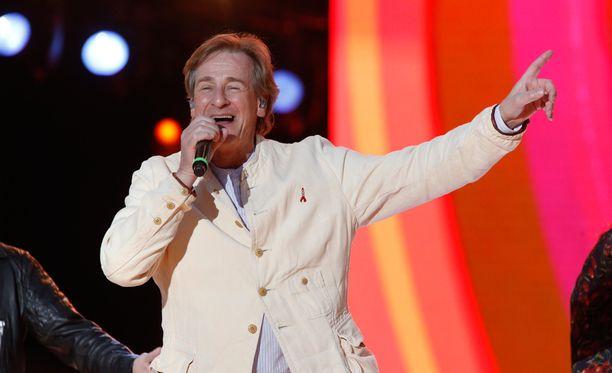 Riki Sorsa esiintyi Live Aid -konsertissa uuden lastensairaalan hyväksi viime vuonna.