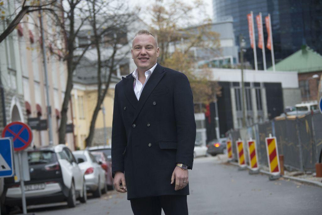 Helsingin Jakomäessä kasvanut Tapio Marjanen on kotiutunut Tallinnaan hyvin.