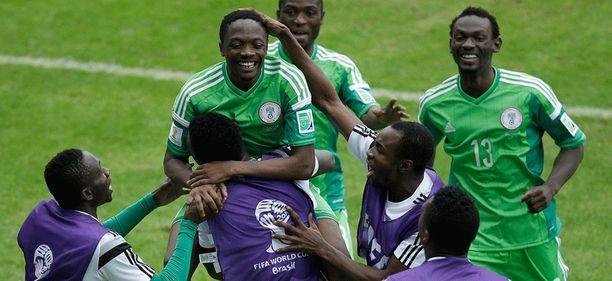 Nigerian joukkueessa kuohuu Ranska-ottelun alla.
