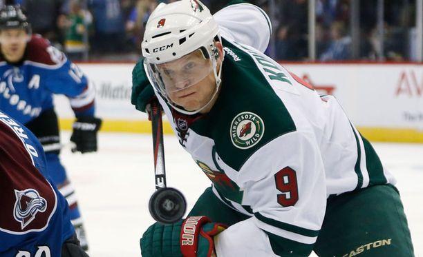 Mikko Koivun Wild on NHL:n läntisen konferenssin viides.