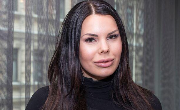 Kuvassa Suvi Pitkänen huhtikuun lopussa.