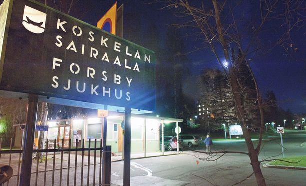 VIRHE Miehen työt terveydenhoitoalalla päättyivät virheeseen, joka tapahtui Koskelan sairaalassa vuonna 2010.